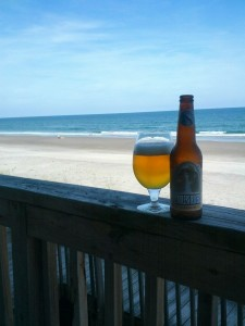 Site is launched, let's have a beer on the beach!